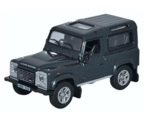 Miniatura Land Rover Defender 90 Green 1/76 Oxford