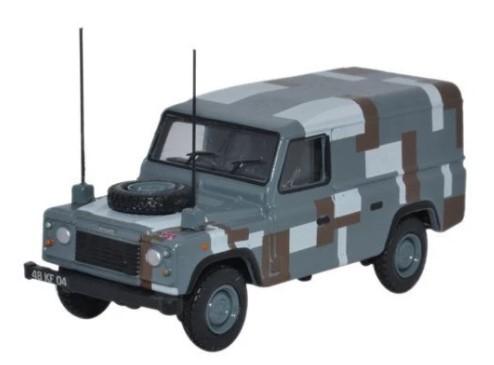 Miniatura Land Rover Defender Berlin Scheme 1/76 Oxford
