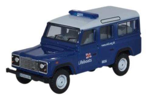 Miniatura Land Rover Defender Life Boats 1/76 Oxford