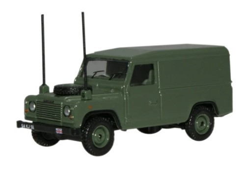 Miniatura Land Rover Defender Militar 1/76 Oxford