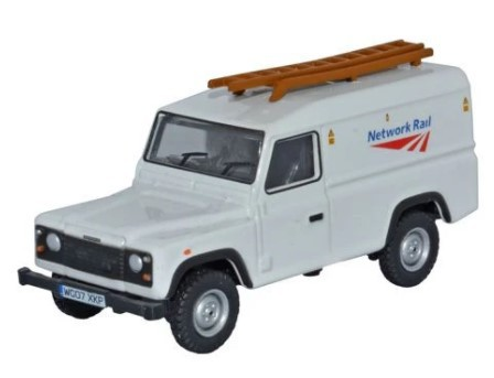 Miniatura Land Rover Defender Network Service 1/76 Oxford