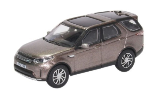 Miniatura Land Rover New Discovery Silver 1/76 Oxford