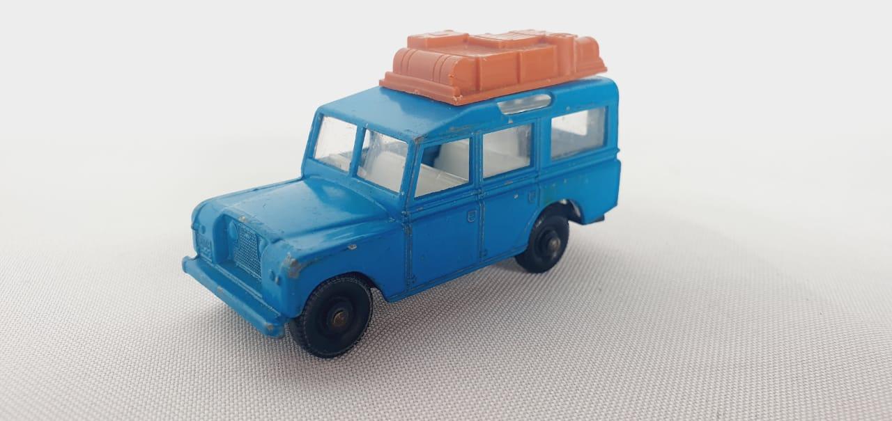Miniatura Land Rover Safari N°12 1/64 Matchbox Década 60