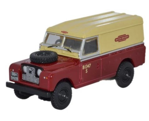 Miniatura Land Rover Serie 2 British Railways 1/76 Oxford
