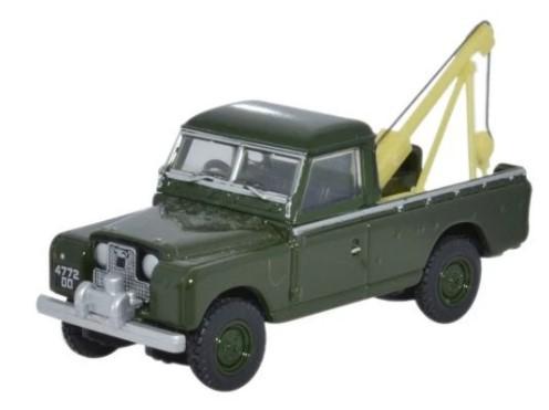 Miniatura Land Rover Serie 2 Guincho 1/76 Oxford
