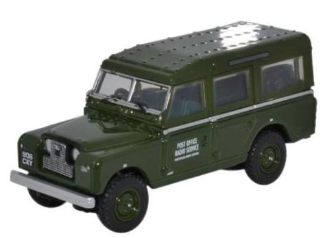 Miniatura Land Rover Serie 2 Post Office Radio Service 1/76 Oxford
