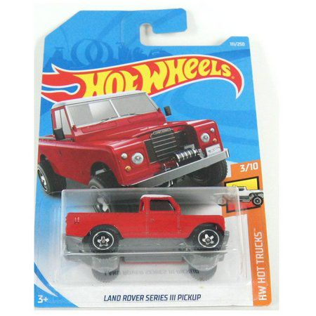 Miniatura Land Rover Series III Pickup HW Hot Trucks 1/64 Hot Wheels
