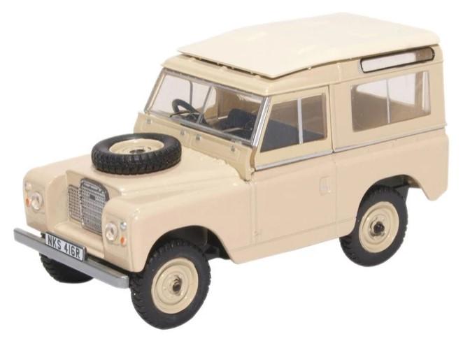 Miniatura Land Rover Series III St Wagon Limestone 1/43 Oxford