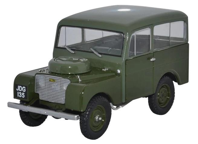 Miniatura Land Rover Tickford Green 1/43 Oxford
