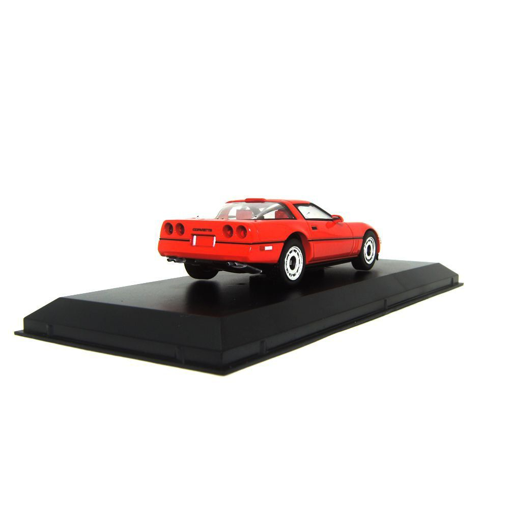 Miniatura Larry Sellers' Chevrolet Corvette 1985 C4 1/43 Greenlight