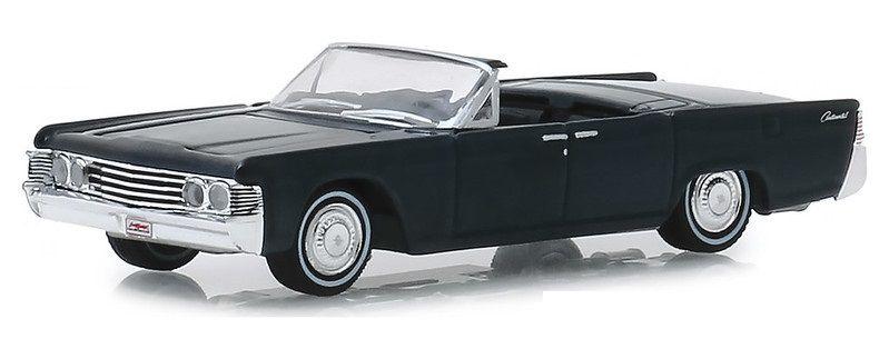 Miniatura Lincoln Continental 1965 Barret Jackson 1/64 Greenlight