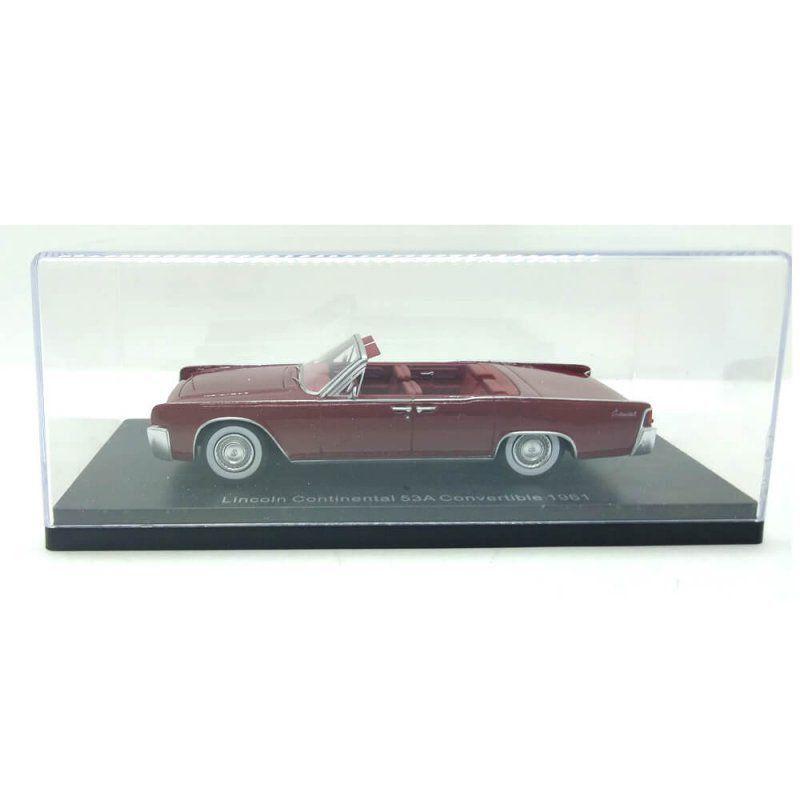 Miniatura Lincoln Continental 53A Conversível 1961 1/43 Neo