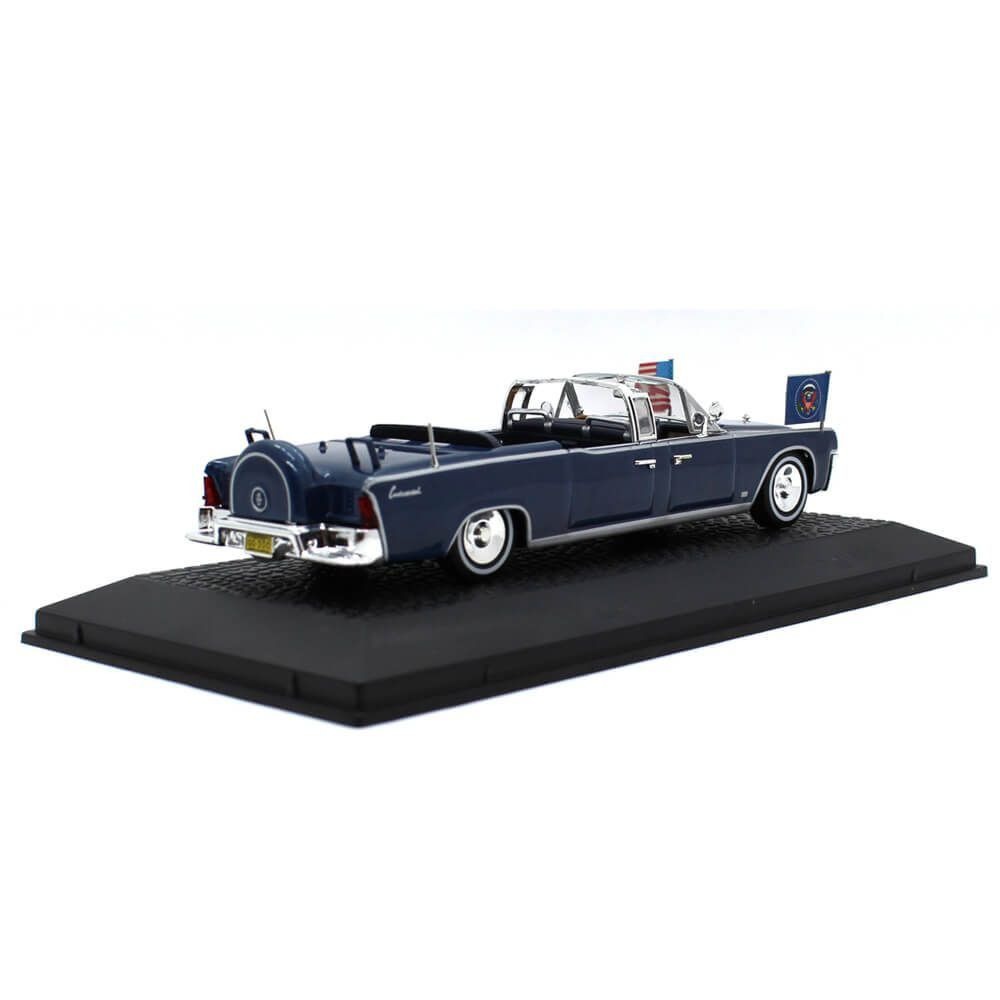 Miniatura Lincoln Continental Limousine Presidente JF Kennedy USA 1963 1/43 Norev