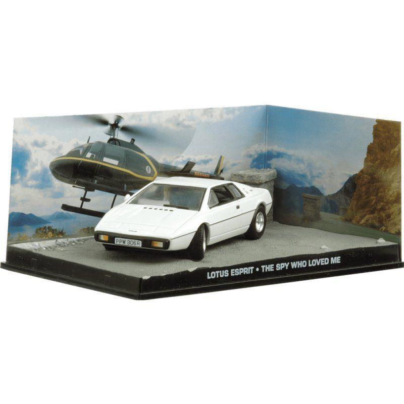 Miniatura Lotus Espirit – 007 James Bond O espião que me amava 1/43 Ixo