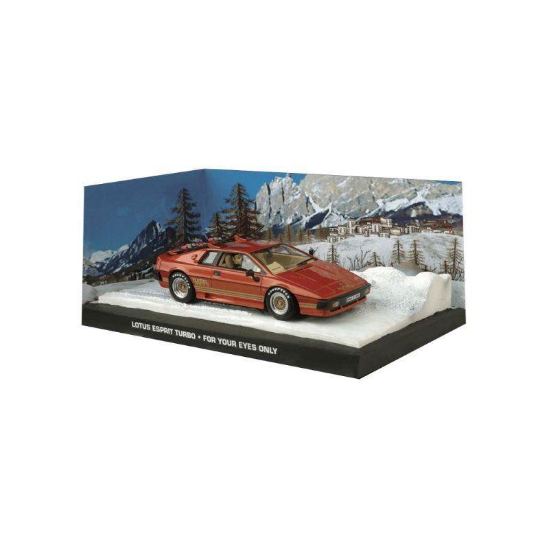 Miniatura Lotus Espirit Laranja – 007 James Bond Somente para seus olhos 1/43 IXO