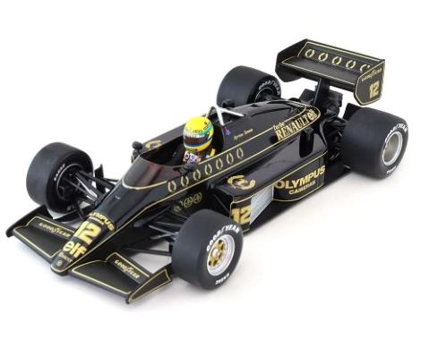 Miniatura Lotus Renault 98T Ayrton Senna 1986 Com Defeito 1/18 Minichamps