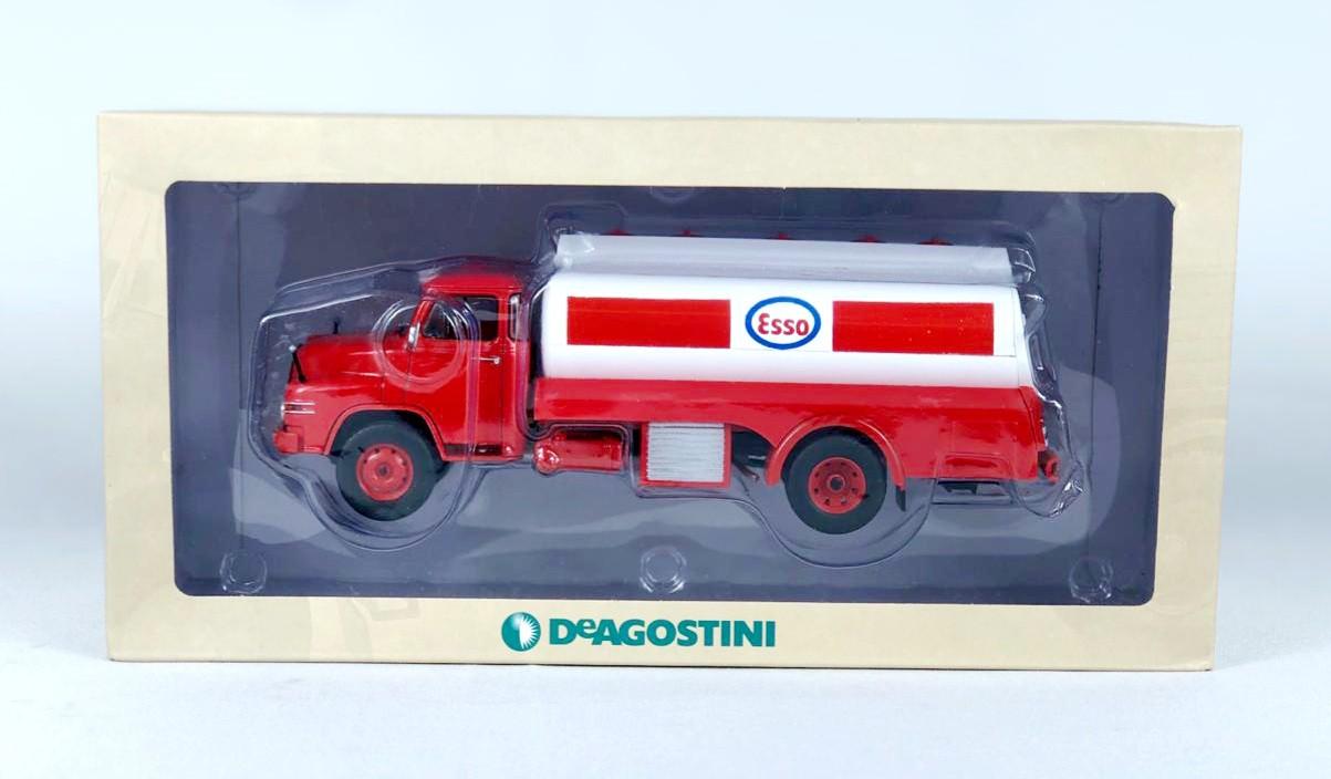 Miniatura Caminhão MAN Esso DeAgostini 1/43 Ixo