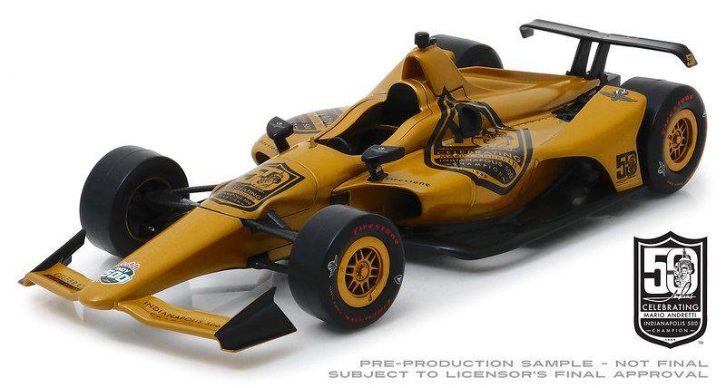 Miniatura Mario Andretti 50th Aniversario Indianapolis 500 1/18 Greenlight