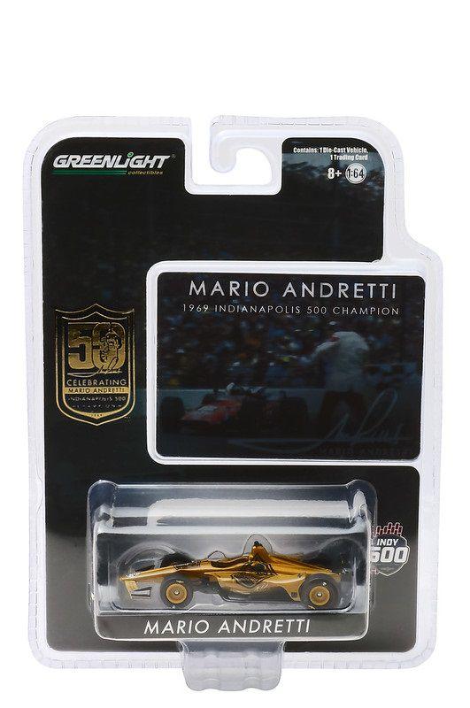 Miniatura Mario Andretti 50th Aniversario Indianapolis 500 1/64 Greenlight
