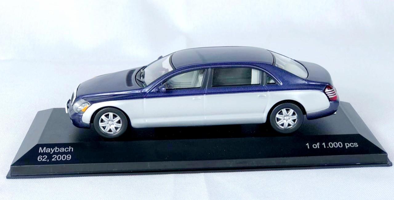 Miniatura Maybach 62 2009 1/43 Whitebox