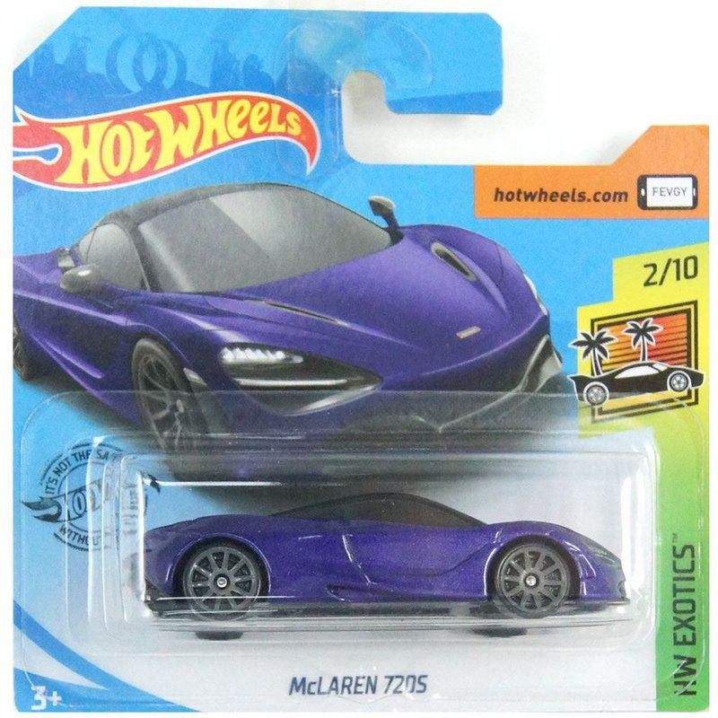 Miniatura McLaren 720S HW Exotics 1/64 Hot Wheels