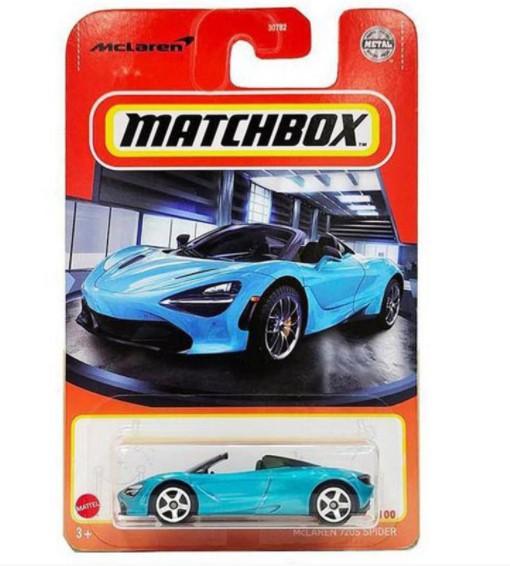 Miniatura McLaren 720S Spider 1/64 Matchbox