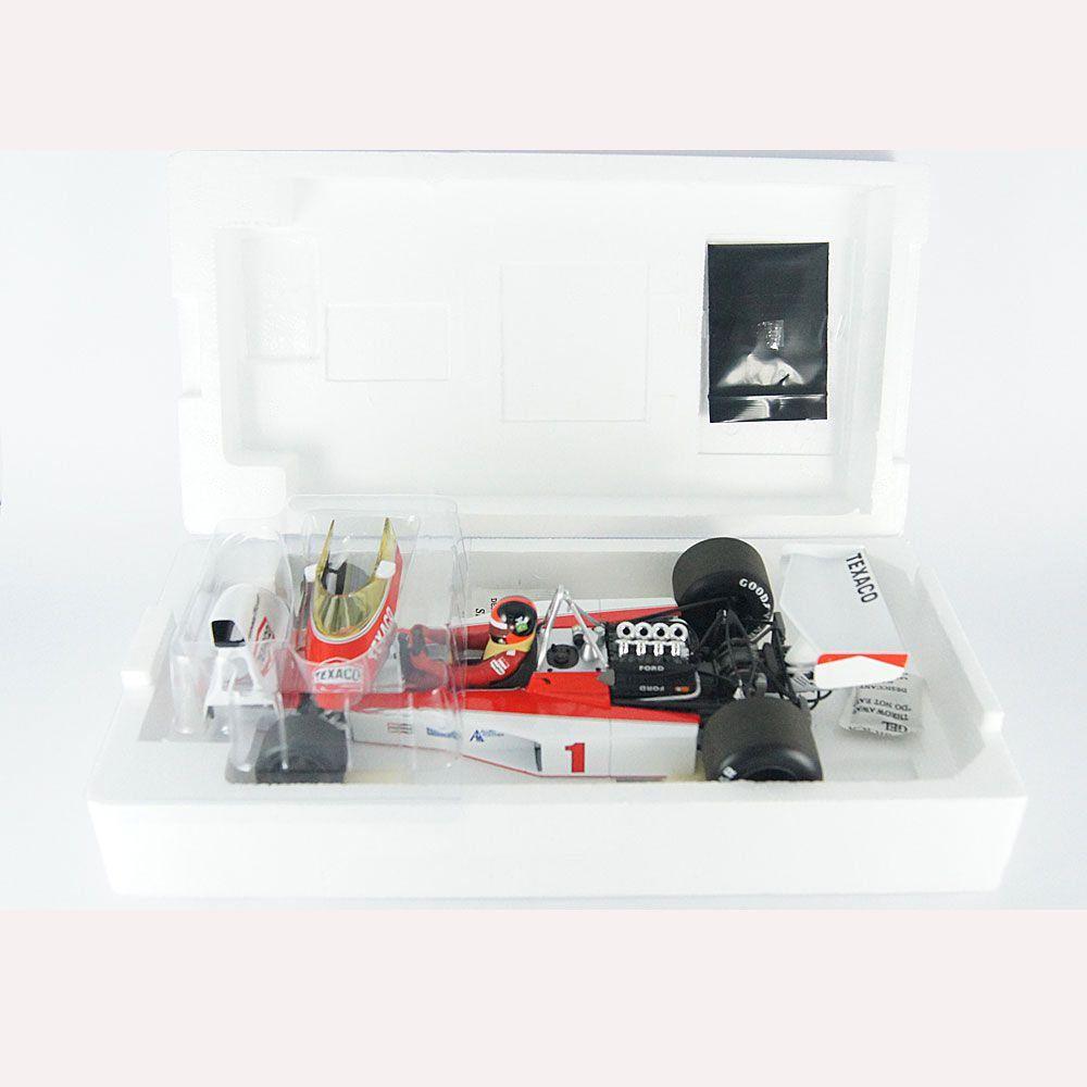 Miniatura McLaren Ford M23 E. Fittipaldi 1975 1/18 Minichamps