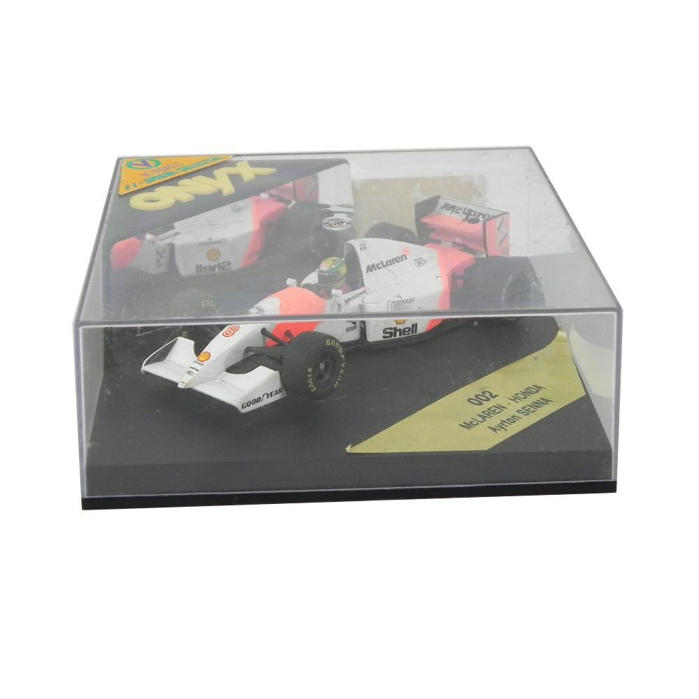 Miniatura Mclaren Honda Ayrton Senna Edição 002 1/43 Onyx