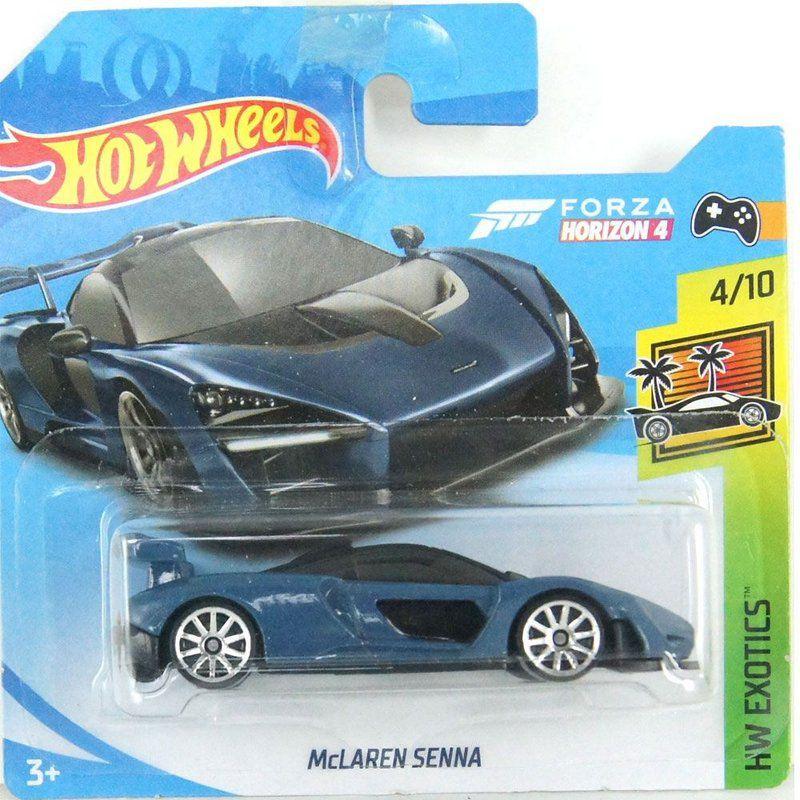 Miniatura McLaren Senna HW Exotics 1/64 Hot Wheels