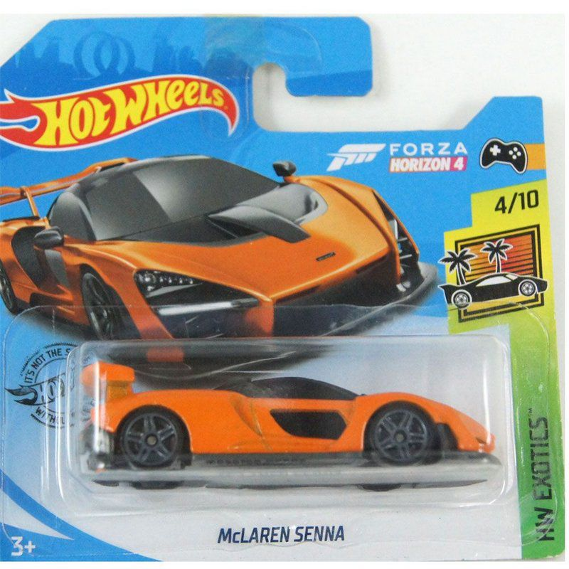 Miniatura McLaren Senna HW Exotics 1/64 Hot Wheels