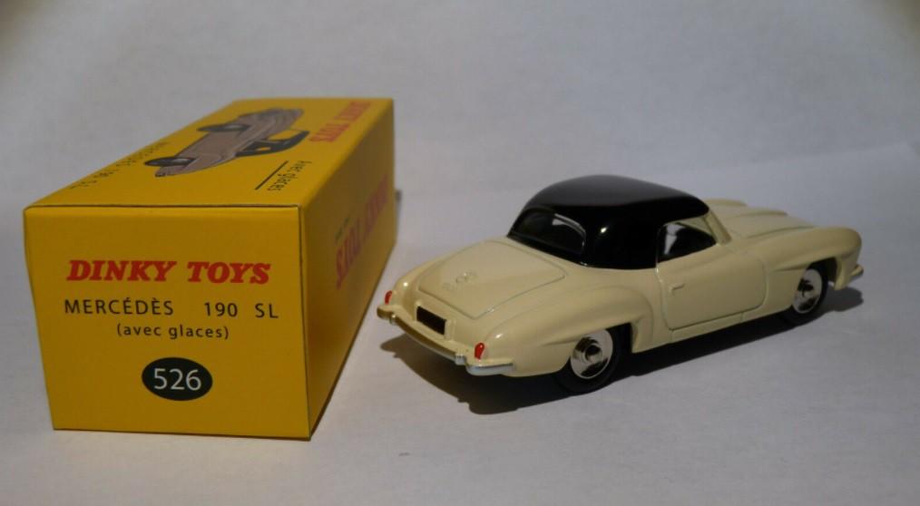 Miniatura Mercedes Benz 190 SL 1/43 Dinky Toys