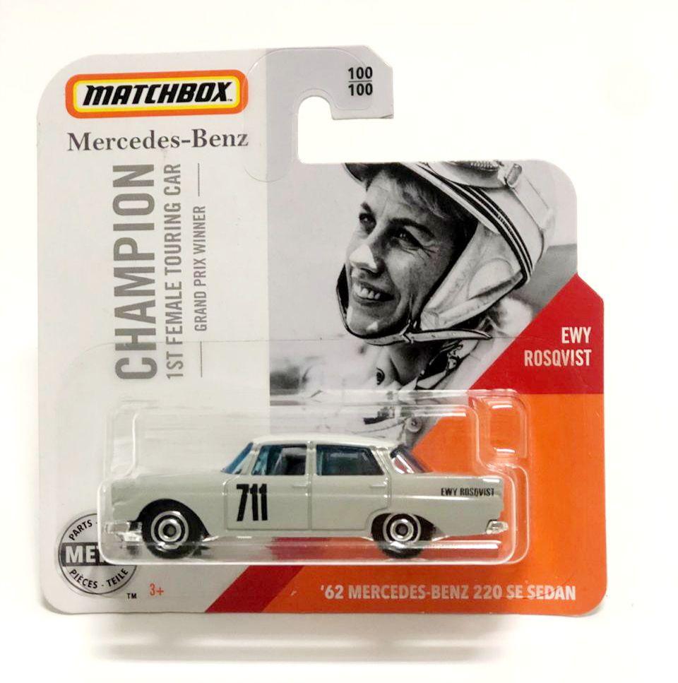 Miniatura Mercedes Benz 220 1962 1/64 Matchbox