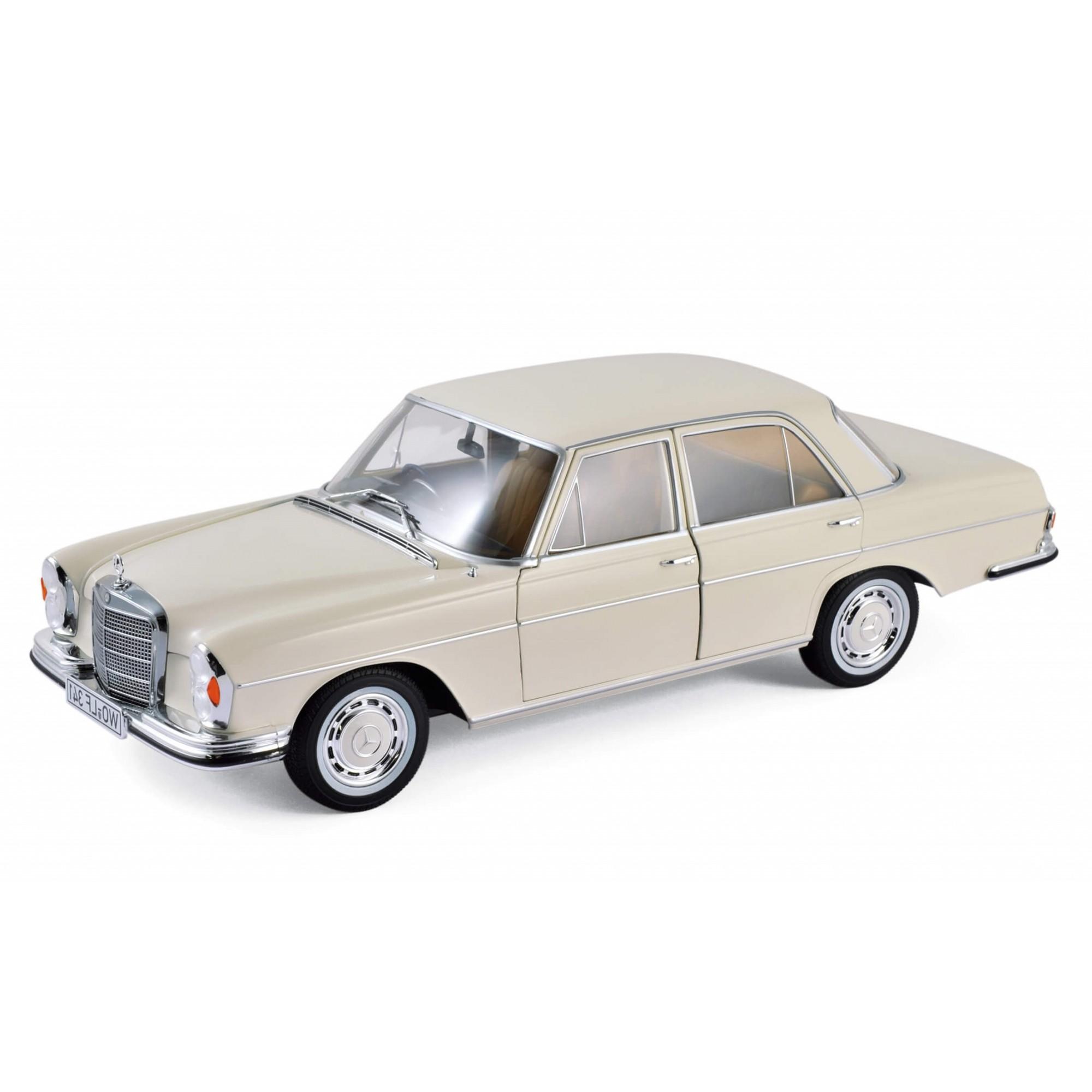 Miniatura Mercedes Benz 280 SE 1968 1/18 Norev