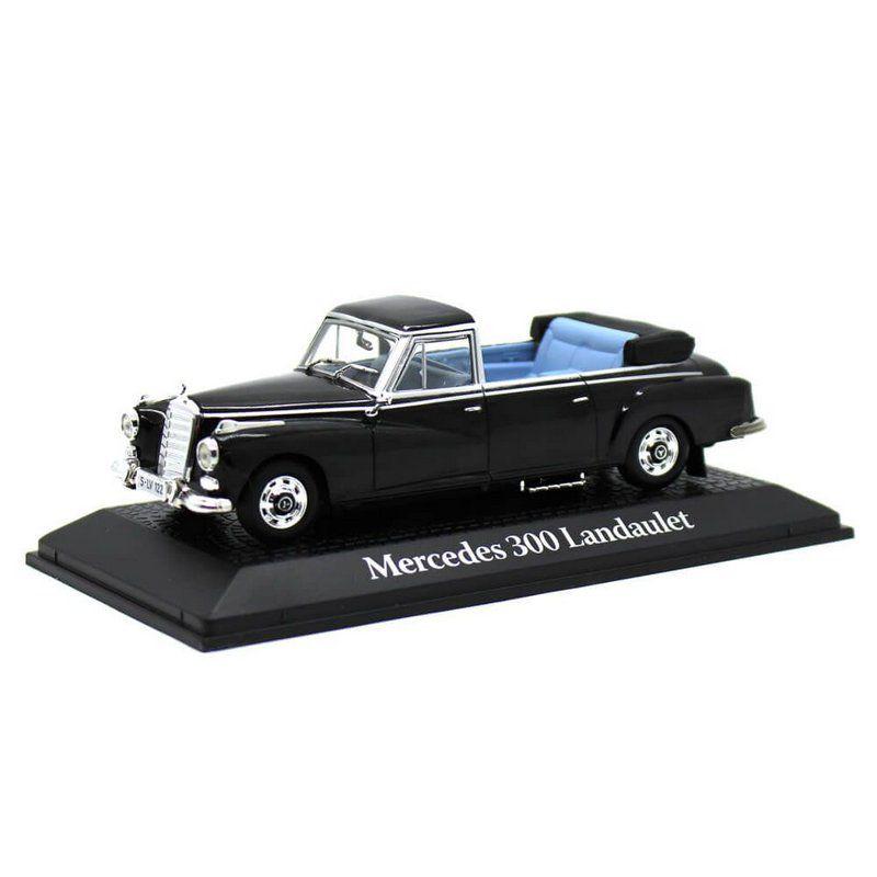Miniatura Mercedes Benz 300D Landaulet Presidente Konrad Adenauer Alemanha 1963 1/43 Norev