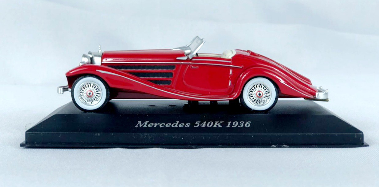 Miniatura Mercedes Benz 540K 1936 1/43 Atlas