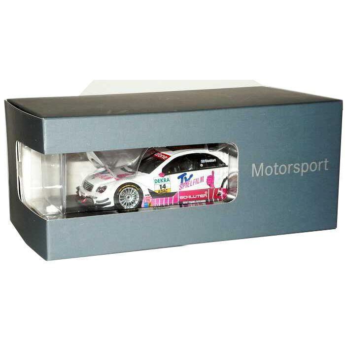 Miniatura Mercedes Benz C-Class AMG TV Spielfilm 1/43 Minichamps
