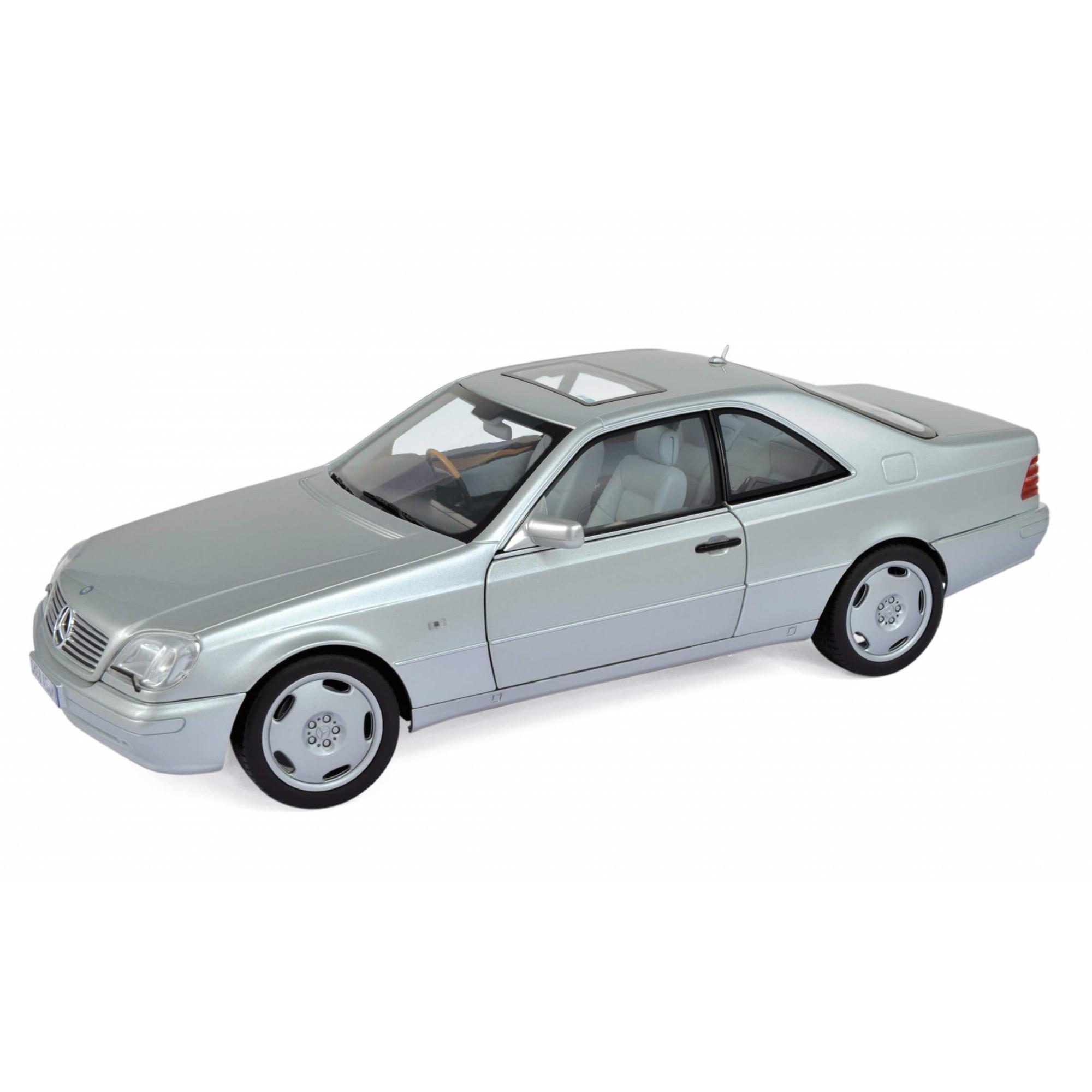 Miniatura Mercedes-Benz CL600 Coupe 1997 1/18 Norev