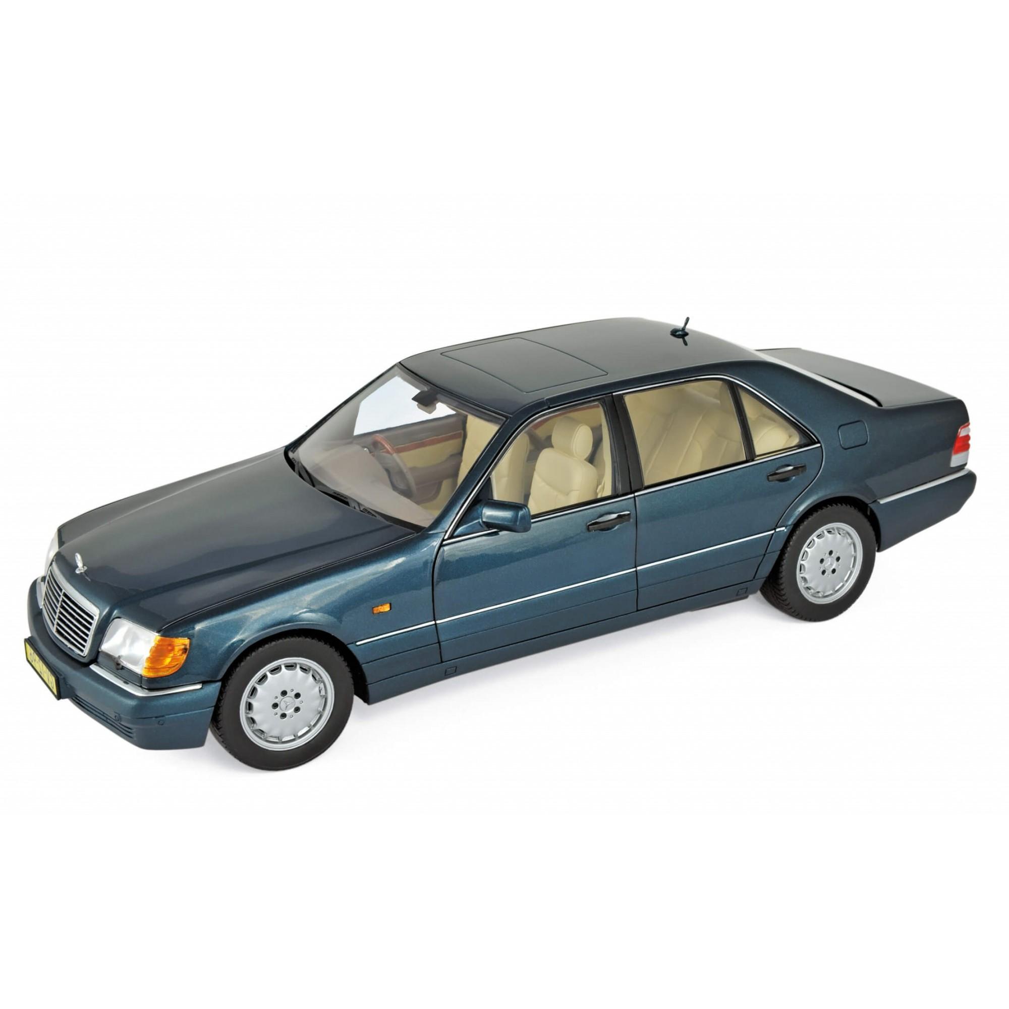 Miniatura Mercedes Benz S600 1997 1/18 Norev