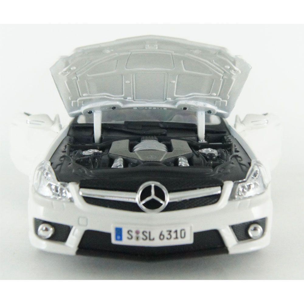 Miniatura Mercedes-Benz  SL63AMG Conversível 1/18 Maisto