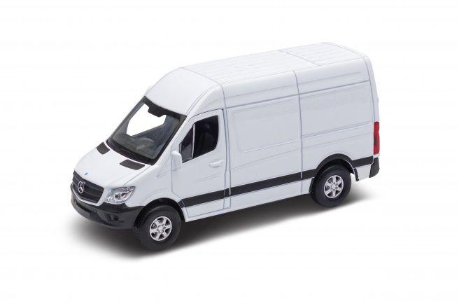 "Miniatura Mercedes Benz Sprinter Pull Back Fricção 4,5"" 1/43 Welly"