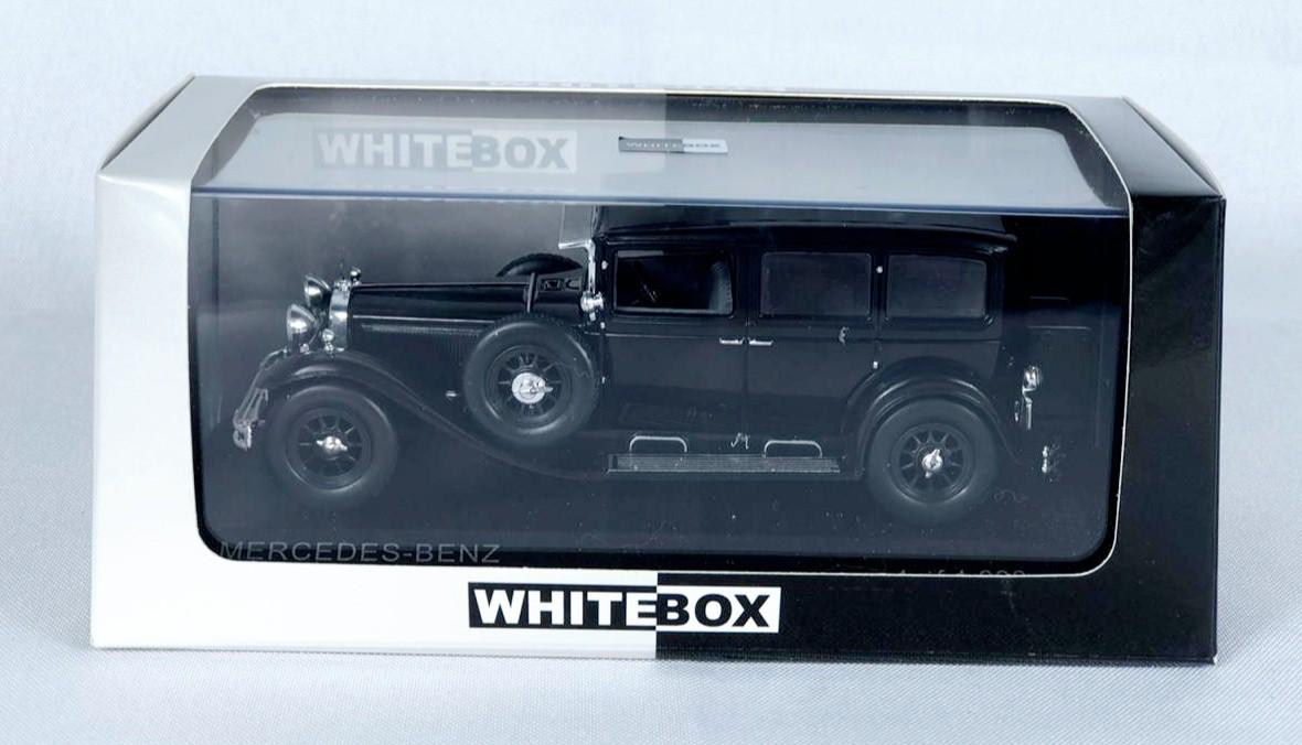 Miniatura Mercedes Benz Typ Nurbnurg 460 1929 1/43 Whitebox