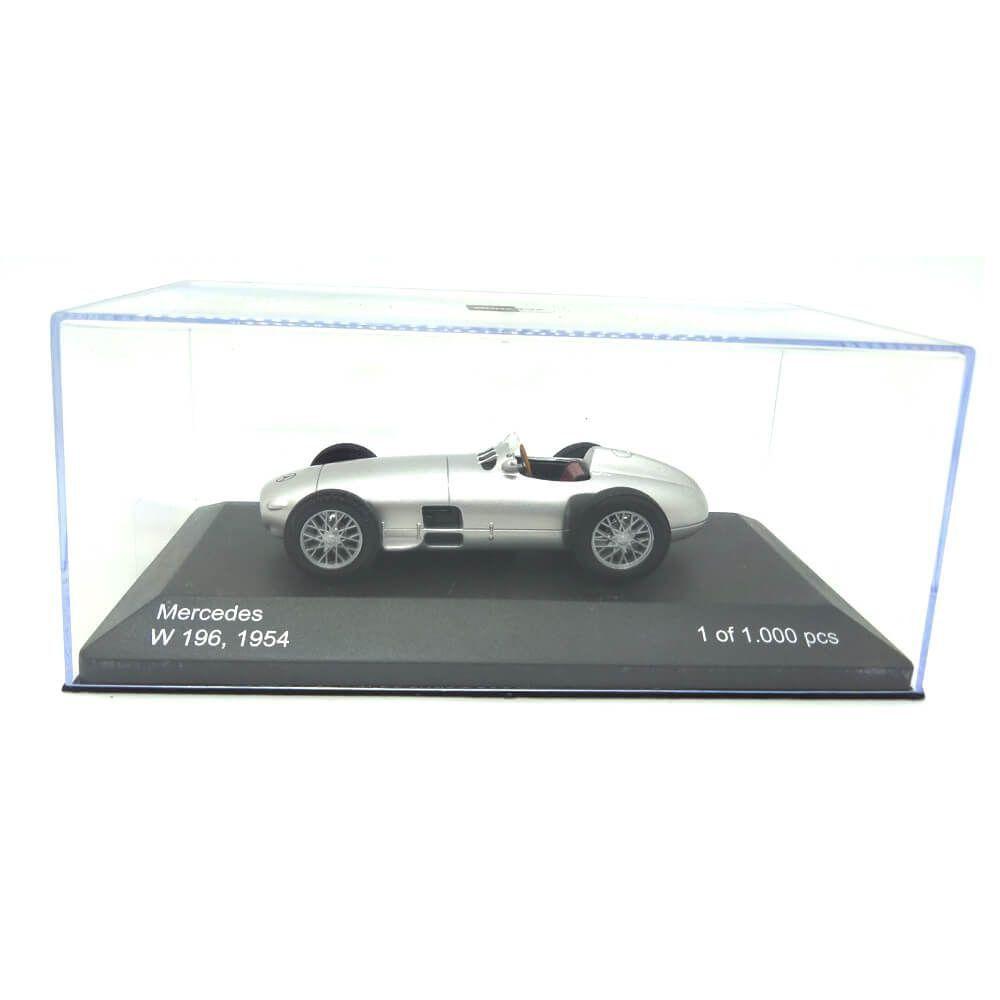 Miniatura Mercedes Benz W 196 1954 Prata 1/43 Whitebox