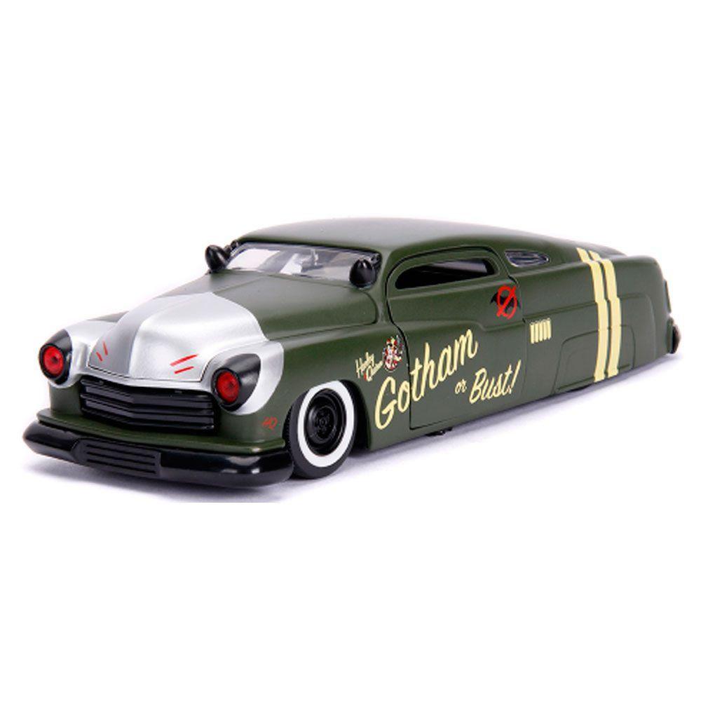 Miniatura Mercury 1951 Arlequina com Boneco 1/24 Jada Toys