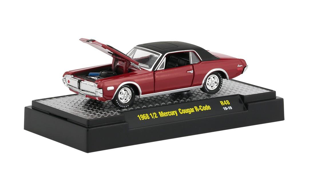 Miniatura Mercury Cougar R-Code 1968 1/64 M2