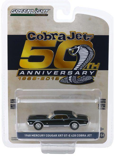 Miniatura Mercury Cougar XR-7 GT-E 1968 1/64 Greenlight