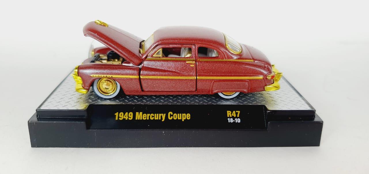 Miniatura Mercury Coupe 1949 Chase 1/64 M2
