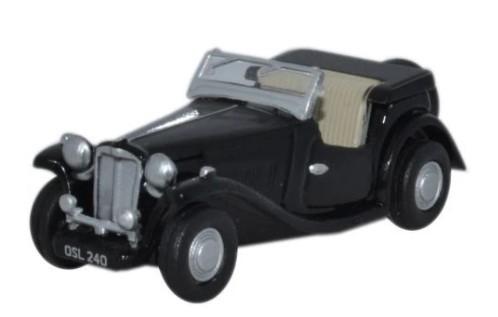 Miniatura MG TC Black 1/76 Oxford