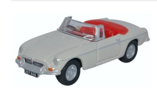 Miniatura MGB Roadster Chelsea Grey 1/76 Oxford