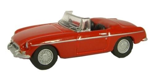Miniatura MGB Tartan Red 1/76 Oxford