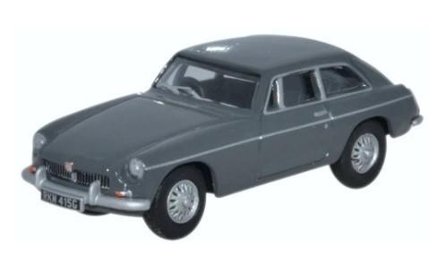 Miniatura MGBGT Grampian Grey 1/76 Oxford